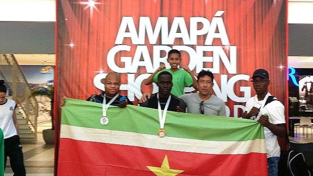 Met 6 medailles terug uit Brazilië