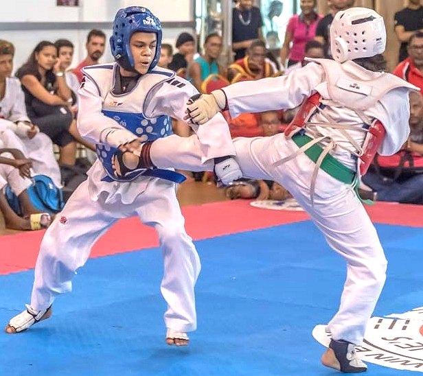 Suriname winnaar I Taekwondo Tournament