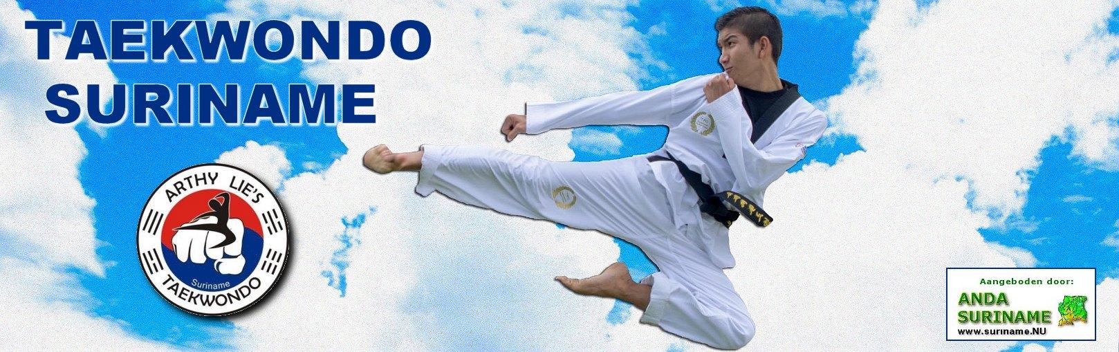 Suriname Taekwondo School Arthy Lie